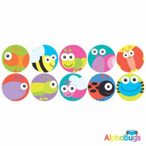 Themed Stickers – Alphabugs 2