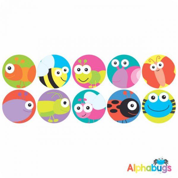 Themed Stickers – Alphabugs 2