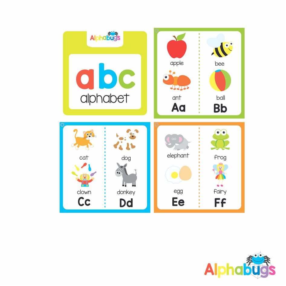 Alphabooks – Alphabet