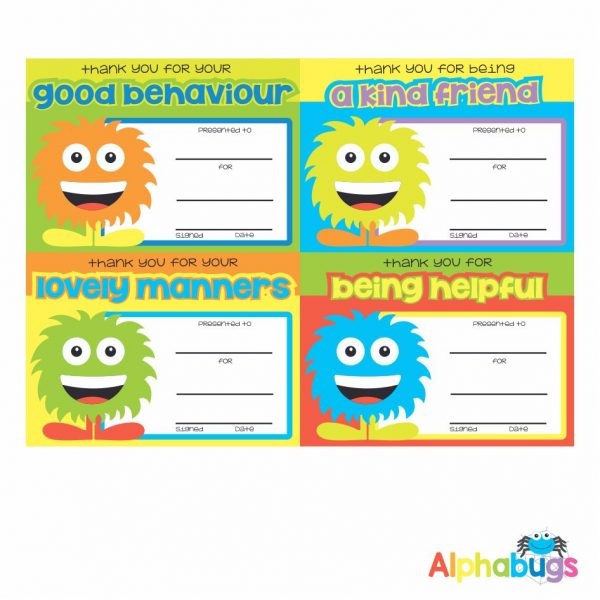 Certificates – Monster Manners