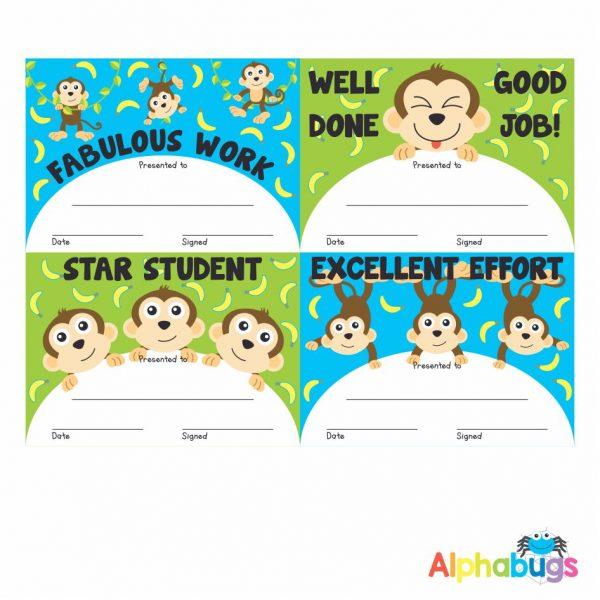 Certificates – Monkey Mischief