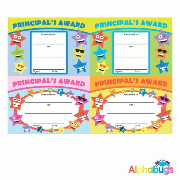 Certificates – Principal's Award
