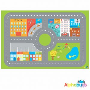 Playmat – In the City (Small)