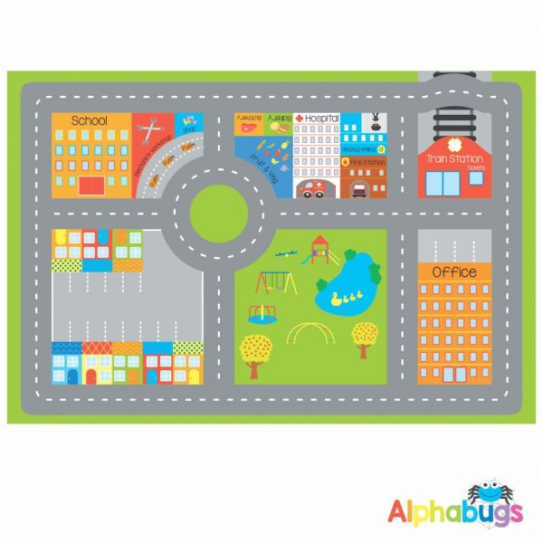 Playmat – In the City (Large)