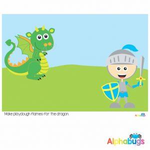 Playdough Mat – Fairytale Fantasy 1.2