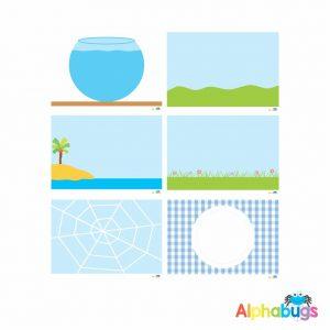 Playdough Mat – Free Play 1- All