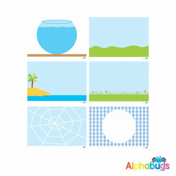 Playdough Mat – Free Play 1- All