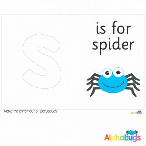 Playdough Mat – Learning Letters s