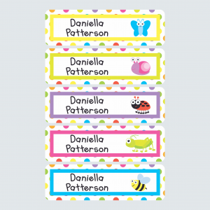 Large Name Labels – Alphabugs