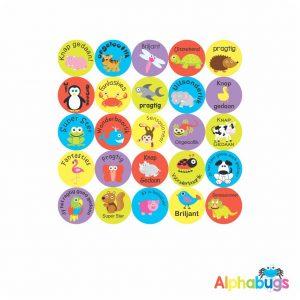 Afrikaans Stickers – Algemene Motivering Stel 9
