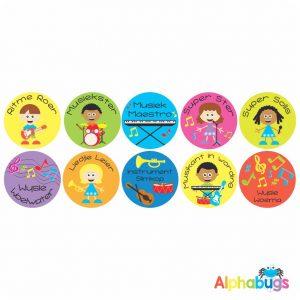 Afrikaans Stickers – Musiek Mania