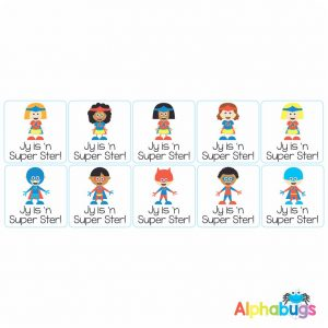 Afrikaans Stickers – Super Ster