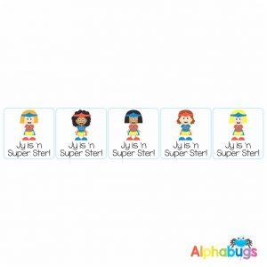 Afrikaans Stickers – Super Ster Stel 2