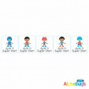 Afrikaans Stickers – Super Ster Stel 3