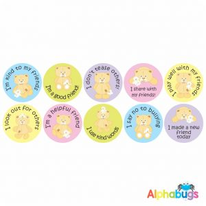 Anti-Bullying Stickers – Friendship Bears