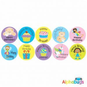 Birthday Stickers – Pack 2