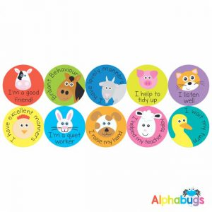 Early Learning Stickers – Pack 1