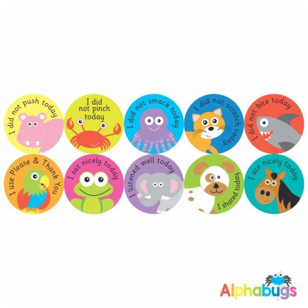 Early Learning Stickers – Pack 2