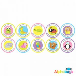 Early Learning Stickers – Ask Me Why