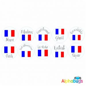 French Stickers – Pack 2