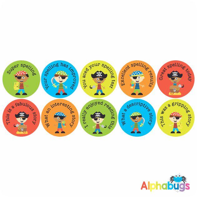 Literacy Stickers – 1