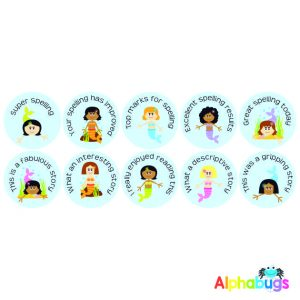 Literacy Stickers – Magical Mermaids