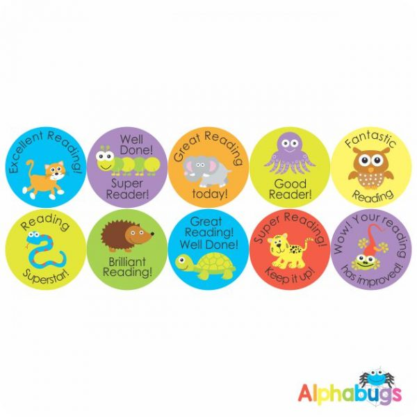 Literacy Stickers – Reading Reward