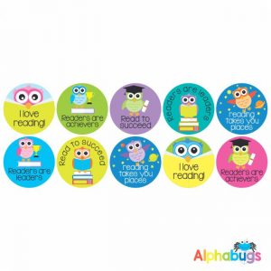 Literacy Stickers – Wise Readers