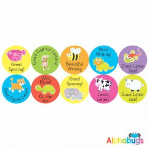Literacy Stickers – Writing Reward 2