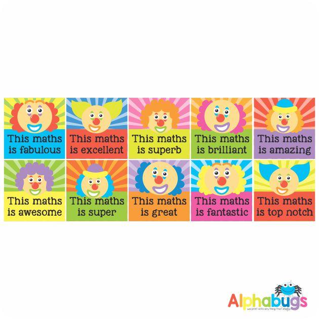Maths Stickers – 2