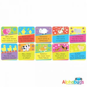 Maths Stickers – 3