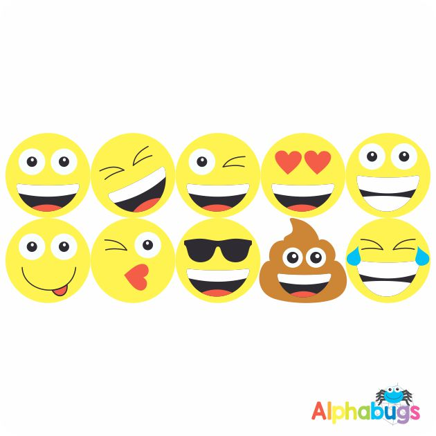 Smiley Stickers – Say Cheese