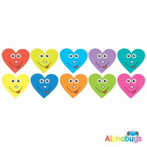 Smiley Stickers – Smiley Hearts
