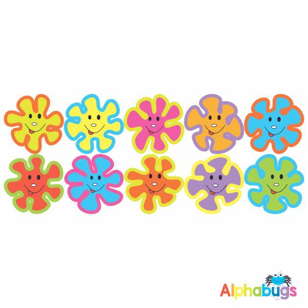 Smiley Stickers – Smiley Splashes