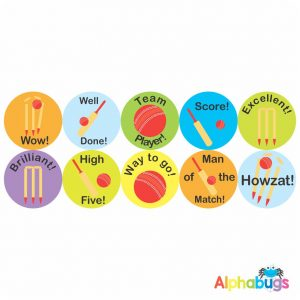 Sports Stickers – HOWZAT!