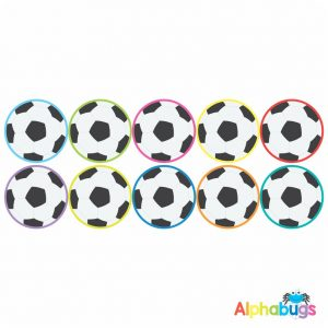 Sports Stickers – Soccer Balls