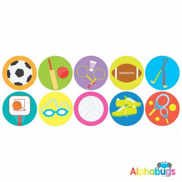 Sports Stickers – Sports Stars