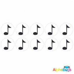 Music Stickers – Music Notes