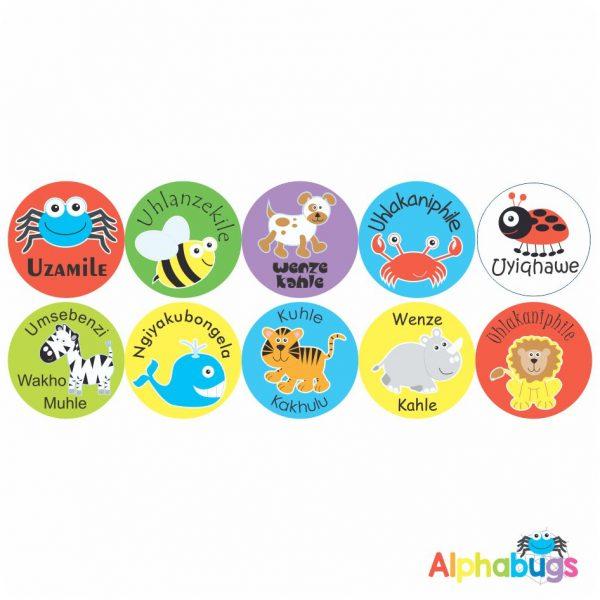 Zulu Stickers – 1