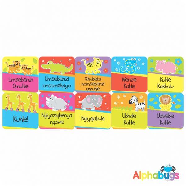 Zulu Stickers – 3