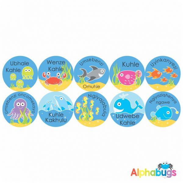 Zulu Stickers – 4