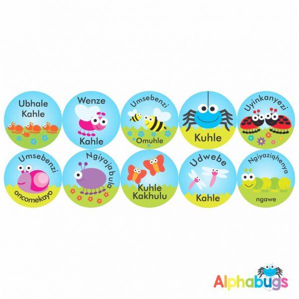 Zulu Stickers – 5