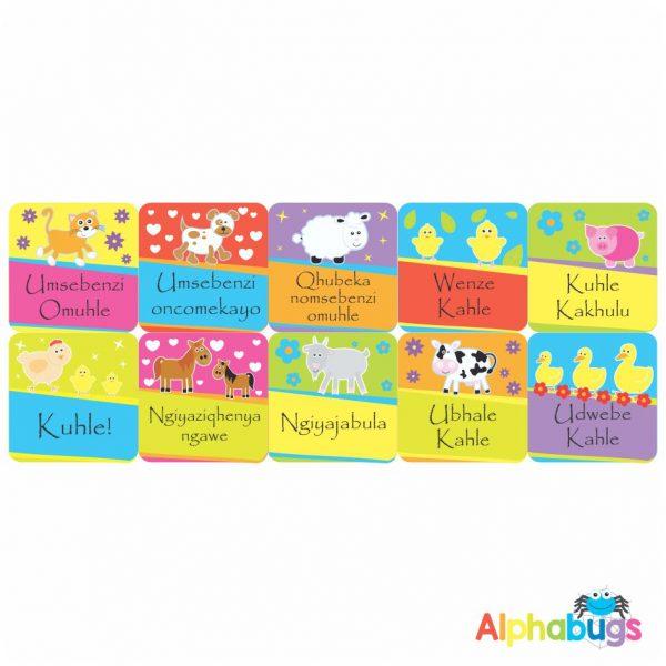 Zulu Stickers – 6