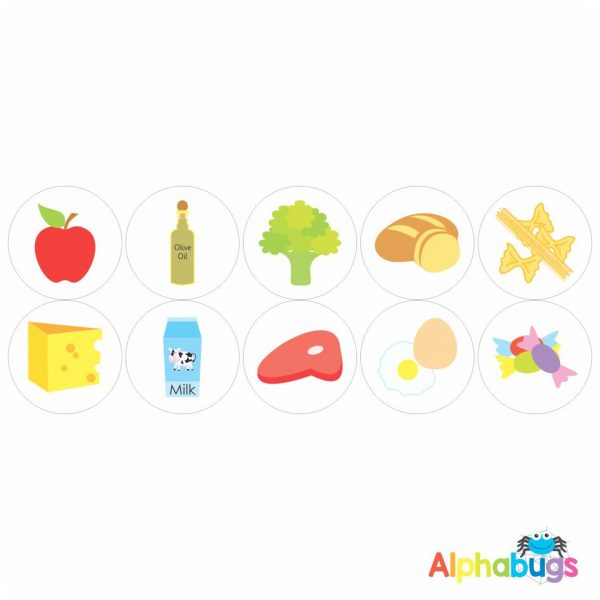 Themed Stickers – 5 A Day