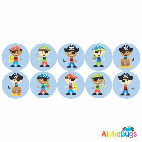 Themed Stickers – Ahoy There Matey 1