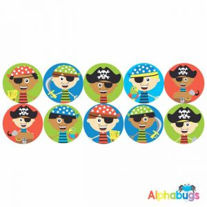 Themed Stickers – Ahoy There Matey 2