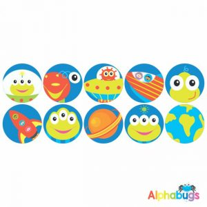 Themed Stickers – Alien Invasion 2