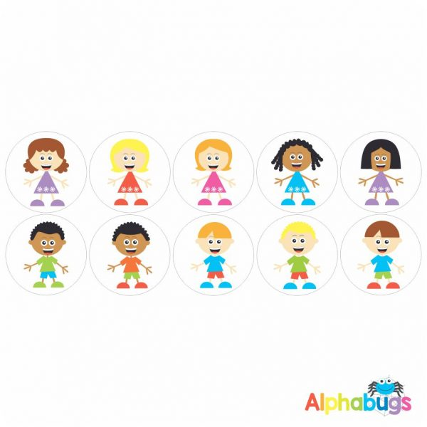 Themed Stickers – Alphakids 1