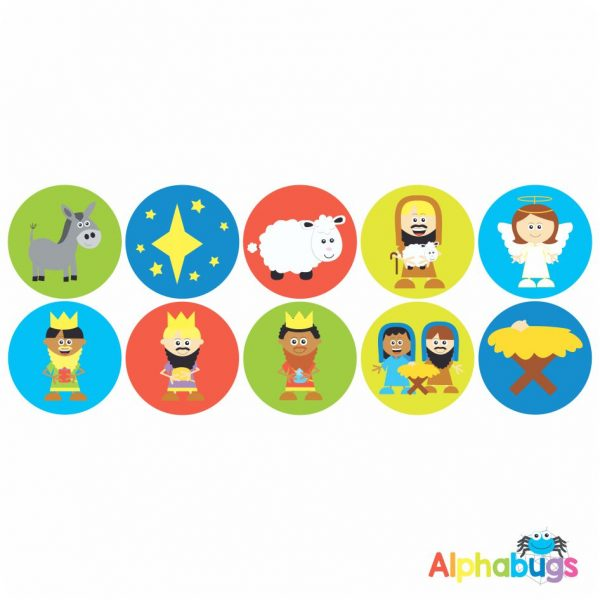Themed Stickers – A Saviour is Born 1