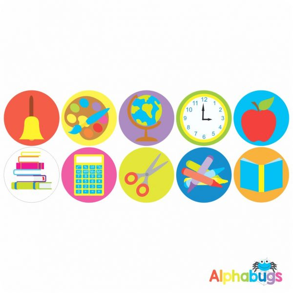 Themed Stickers – Back to School
